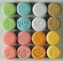 MDMA pills a.k.a. Ecstasy